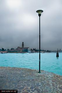 Venezia_L'isola di San Michele vista da Murano