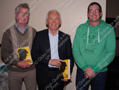 David Walsh speaks at the Rhu Glenn