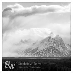 storm_bw_13 (StephenWilliDesigns) Tags: blackandwhite snow storm mountains weather jackson wyoming tetons grandteton jacksonhole grandtetonnationalpark