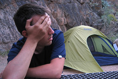Campground (angelatravels11) Tags: park angel bright grand canyon national campground grandcanyonnationalpark canyonnational backpackinggrandcanyon 20080402 parkbright angelatravels backpackingthegrandcanyon