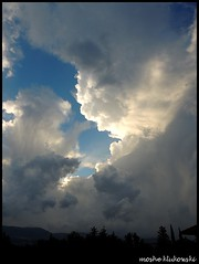 - galilee (moshek70) Tags: sky weather clouds israel  cumulonimbus