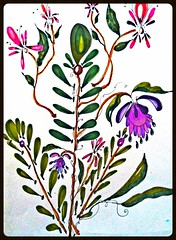 Wildflower (born 2 b creative) Tags: art ink drawing journal creation doodle pens copic artjournal journalpage 2013