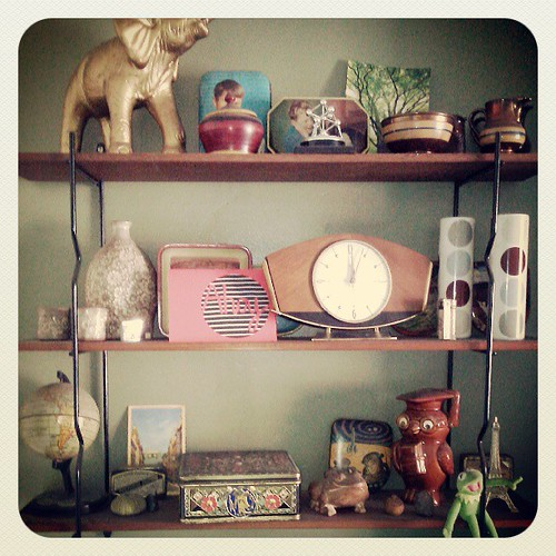 Cluttered shelving part 1