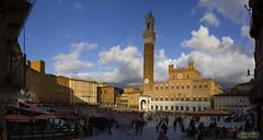 Piazza del Campo (The Lemon Photography) Tags: italy panorama del europe italia tuscany campo siena piazza toscana palio toskana theperfectphotographer blinkagain