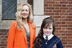 Geraldine Coady & Nikki Hynes at the Mercy Convent Confirmation