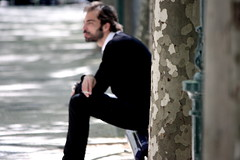 Pensativo (keepall) Tags: cute sexy guy portugal lisboa handsome liberdade guapo