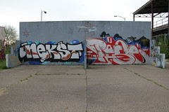Trav MSK in Detroit (SMKjr) Tags: street art graffiti detroit kings production msk mad cod trav society persue 1xrun