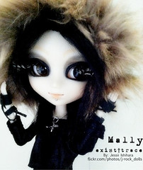 VANGUARD  Mally (J-Rock dolls) Tags: music japan japanese doll dolls ooak customized pullip custom jrock pullips vanguard mally  existtrace