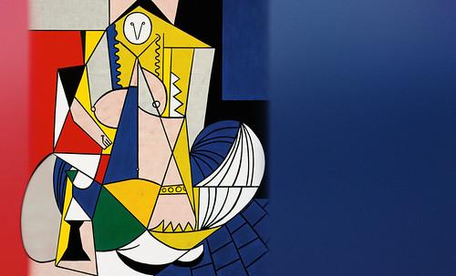 """Odaliscas (Mujeres de Argel) yuxtaposición y deconstrucción de Pablo Picasso (1955), síntesis de Roy Lichtenstein (1963). • <a style=""""font-size:0.8em;"""" href=""""http://www.flickr.com/photos/30735181@N00/8746884955/"""" target=""""_blank"""">View on Flickr</a>"""