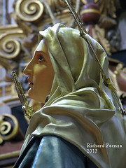 Our Lady of Sorrows (fajjenzu) Tags: sculpture religion statues malta crucifix procession spirituality salvation crucifixion redeemer redemption jesuschrist goodfriday holyweek oursaviour passionofchrist cospicua