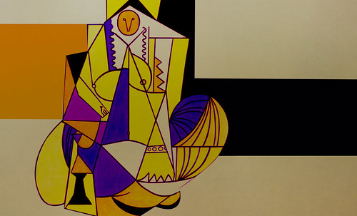 """Odaliscas (Mujeres de Argel) yuxtaposición y deconstrucción de Pablo Picasso (1955), síntesis de Roy Lichtenstein (1963). • <a style=""""font-size:0.8em;"""" href=""""http://www.flickr.com/photos/30735181@N00/8748003640/"""" target=""""_blank"""">View on Flickr</a>"""