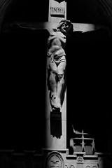 Crucifixion (TySpoonerPhotography) Tags: chicago church statue canon photography cross stonework religion jesus cathedrals statues crucifixion digitalphotography t3i