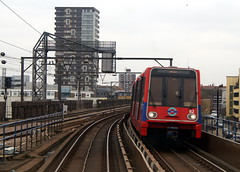 Docklands Light Railway  82 (chrisbell50000) Tags: light favorite london train tracks railway rails docklands favourite dlr 82 chrisbellphotocom