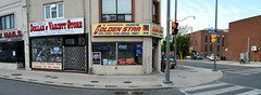 Panorama 11 v2 (collations) Tags: toronto ontario architecture documentary vernacular streetscapes builtenvironment cornerstores conveniencestores urbanfabric varietystores