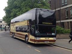 Richmonds 559ABX CAMBRIDGE 050613 (David Beardmore) Tags: vanhool doubledeckercoach 559abx richmondsofbarley uploaded:by=flickrmobile flickriosapp:filter=nofilter