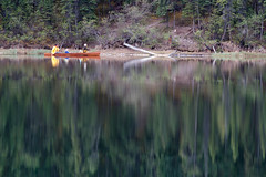 Making Reflections (yukonchris) Tags: canada nature beauty forest landscape outside outdoors spring flickr natural north canoe yukon northern genre canoing northof60 southernyukon ef400mm canon7d 2013favorite