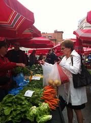 Buying veg