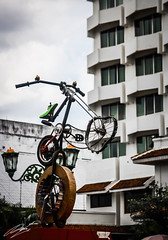 (Rama N) Tags: festival canon indonesia java raman canon28135mmusm canon1000d bycicyle flickrandroidapp:filter=none