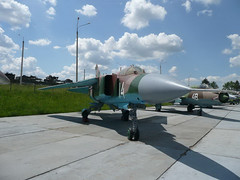 "MiG-23MLD (1) • <a style=""font-size:0.8em;"" href=""http://www.flickr.com/photos/81723459@N04/9296481701/"" target=""_blank"">View on Flickr</a>"