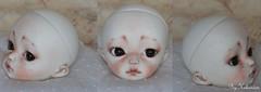 makeup commission on August (heliantas) Tags: doll chloe bjd soom dim gian handmadefaceupmakeup