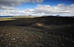 Hverfell (marie du vercors) Tags: island volcano noir caldera volcan cratere