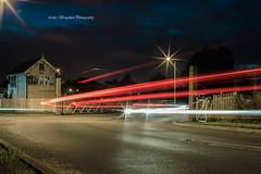 """Chasing the light"" (Luke Broughton) Tags: longexposure light night canon dark f14 sigma lighttrails carlights 30mm 50d"