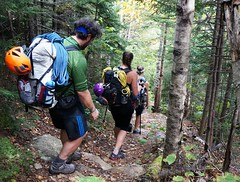 On the trail in New Hampshire with the Hyperlite Mountain Gear Staff (hyperlitemountaingear2013) Tags: camping camp mountain climb hiking newhampshire whitemountains hike climbing mountaineering ultralight windrider lightweight hmg hyperlite cubenfiber hyperlitemountaingear