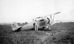 AL009B_347 Fleet 1 cn 347 NC766V (San Diego Air & Space Museum Archives) Tags: aviation navy northisland usnavy gillies fleet1 cn347 nc766v