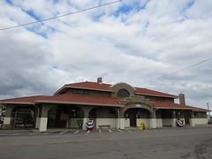 c.1912 D&RG RR Depot (Patricia Henschen) Tags: montrosecolorado colorado railroadstation trainstation drg aspen depot denverandriogrande montrose usroute50