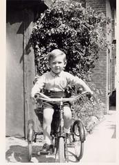 The first short back and sides! (Les Fisher) Tags: haircut 1948 smart trike threewheeler northnorfolk eastrunton wyndhampark