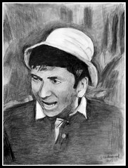 Bob Denver - Pencil Drawing by STEVEN CHATEAUNEUF (2013) (snc145) Tags: portrait people celebrity art face pencil portraits actors comedy artist drawing expression artists actor celebrities realism capricorn pencildrawing realistic gilligansisland pencildrawings bobdenver classictv metv 2013 photomemories thisphotorocks stevenchateauneuf flickrstruereflection1 pandaonflickr