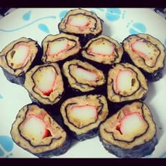 หมูห่อสาหร่าย #จิ้มกะจิ๊กโฉ่วแล้วอย่างฟิน #อาหารว่าง #นุ่มๆ #ทำอาหาร #ทำเองกะมือ #lucreisia_cooking #เมนูเด็กหอ