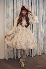 Royal Unicorn (xylia-x) Tags: classic hat fashion japanese pretty sweet lolita harajuku onepiece angelic boater xyliax