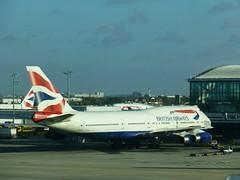G-CIVJ at Heathrow - 14 November 2013 (John Oram) Tags: heathrow lhr b747 egll b747400 b744