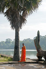 (Sebtaui2010) Tags: cambodia angkorwat angkor buda templo monje budismo jemer campoya