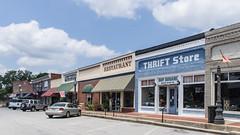 Downtown Barnesville (jwcjr) Tags: barnesvillega barnesvillegeorgia smalltownga thriftstorebarnesville flowersbarnesville