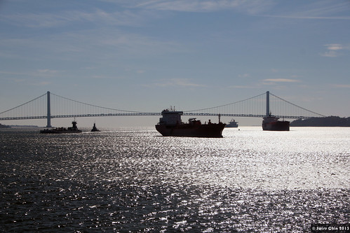Verrazano-Narrows Bridge over Upper New York Bay
