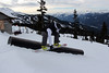 Aaron Snowboard Grab