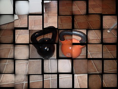 Orange is the new black. (petrusko.rm) Tags: mosaic olympus 16 kg russian kb pood 2014 kettlebell kilo tg1