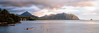 Kualoa Mountains (Kuang-Yu Jen) Tags: hawaii oahu kualoa windwardcoast {vision}:{sky}=095 {vision}:{car}=0637 {vision}:{sunset}=087 {vision}:{clouds}=061