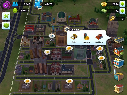 SimCity BuildIt Gameplay: screenshots, UI