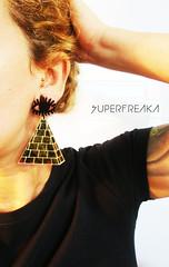OLHO DE HORUS (SuperFreaka) Tags: africa wings afro dourado horus olho asa swag brincos egito piramide acrilico diferentes etnico bijuterias streetstyle cortealaser