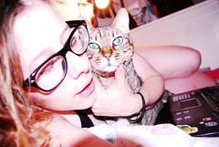 Élah.. (DanaTheGinger) Tags: anna nerd cat amor preciosa bannana elah annabannana elahé élahé liqu0rcandy
