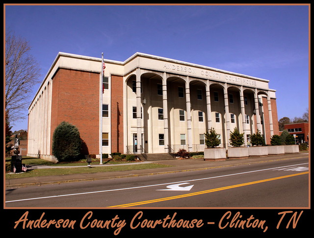 For Sale: TN Courthouse Postcard Collection: Anderson