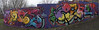 Klone / Zenor, Panorama (tombomb20) Tags: park street streetart art wall graffiti paint tag leeds spray hyde lettering graff klone 2061 rosebank tfa 2015 zenor tombomb20 zenor2061 klonism