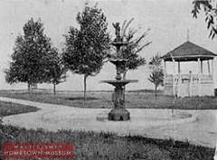 Main Street USA-Kansas Avenue (Dirt Street), Marceline, MO ....Ripley Park-Gazebo