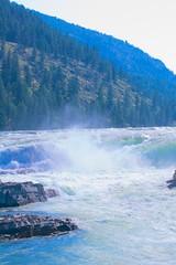 USA - Montana (Herculeus (Traveling)) Tags: usa mist mountains water river montana rapids nationalforest kootenaifalls 5photosaday kootenainationalforest nikond40