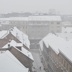 79 (antekatic365) Tags: street winter snow storm fog town nikon croatia upper zagreb grad hrvatska ante tomic gornji ilica katic d3100