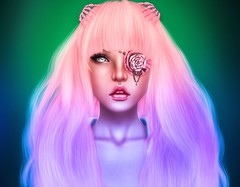 Hold your colours against the wall (akashiy) Tags: pink blue cute green rose colours kawaii