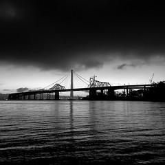 None of the Above (Thomas Hawk) Tags: sanfrancisco california bridge bw usa america us treasureisland unitedstates fav50 unitedstatesofamerica baybridge eastbay fav10 fav25 fav100